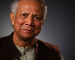 Inspiring: Speech for a better world by Muhammad Yunus